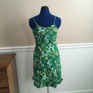 clockhouse Dresses - clockhouse womens 4 hawaiian printed dress green